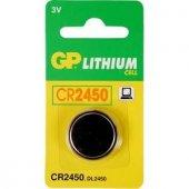 Gp Cr2450 C5 3v Lityum Düğme Pil 5li Paket