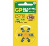 Gp Za10 1.4v Düğme Kulaklık Pili 6lı Paket