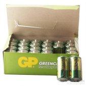 Gp Greencel R14 Orta Boy Çinko Pil 24lü Paket Gp14g 2s2