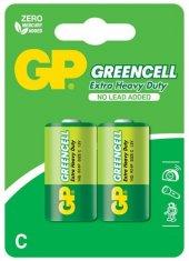 Gp Greencell Gp14g U2 R14 Orta Pil 2li Blister