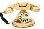 Dekoratif Metal Telefon C0260
