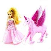 Peri Masalı Bebek ve Kanatlı At  Prenses Ve Pegasus Atı-2