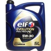 Elf Full Tech Fe 5w30 Motor Yağı 5 Litre Dpf Partiküllü