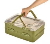 Takeaway Dublex Pasta Ve Börek Taşıma Kabı Mlx718