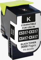 Lexmark Cs317 Cx317 Cs417 Cx417 Muadil Renkli...
