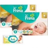Prima Premium Care 2 Beden Mini Dev Ekonomi Paketi 120 Adet 2 Li