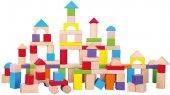 Ahşap Bloklar 100 Parça