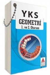Delta Kültür Yayınları Tyt Ayt Geometri Cep Kartı