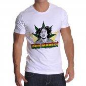 Tshirthane Bob Marley Kısakollu Erkek Tişört
