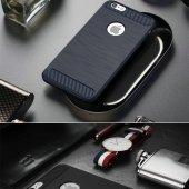 iPhone 6s Plus Silikon Kılıf Rush Arka Kapak + Ekran Koruyucu Temperli Cam-4