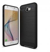 Samsung Galaxy J7 Prime Kılıf Rush Arka Kapak + Ekran Koruyucu Temperli Cam