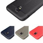 Samsung Galaxy J5 Pro J530 Kılıf Nish Silikon Kap Kapak + Kırılmaz Cam Ekran Koruyucu