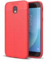 Samsung Galaxy J5 Pro J530 Kılıf Nish Silikon Kap Kapak + Kırılmaz Cam Ekran Koruyucu-8