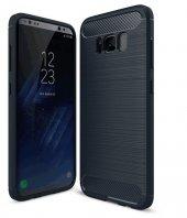 Samsung Galaxy S8 Plus Kılıf Rush Arka Kapak + Ekran Koruyucu Kavisli Ped Film