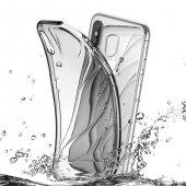 Baseus Water Apple iPhone X Şeffaf Silikon Kılıf Arka Koruyucu Kapak