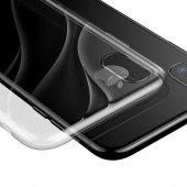 Baseus Water Apple iPhone X Şeffaf Silikon Kılıf Arka Koruyucu Kapak-2