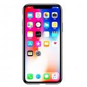 Baseus Water Apple iPhone X Şeffaf Silikon Kılıf Arka Koruyucu Kapak-4