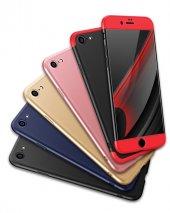 Iphone 8 Kılıf 360 Ön Arka Kapak Full Koruma + Nano Kırılmaz Cam Ekran Koruyucu