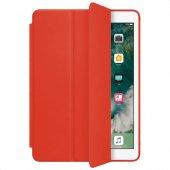 Ipad Pro 12.9 Smart Case Kırmızı Kılıf Arka Koruyucu Kapak