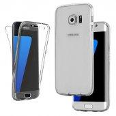 Samsung Galaxy S7 Edge 360 Derece Kılıf Ön Arka Koruyucu Kapak Full Kaplama-2