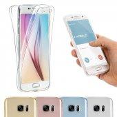 Samsung Galaxy S7 Edge 360 Derece Kılıf Ön Arka Koruyucu Kapak Full Kaplama-4