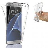 Samsung Galaxy S7 Edge 360 Derece Kılıf Ön Arka Koruyucu Kapak Full Kaplama-5