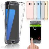 Samsung Galaxy S7 Edge 360 Derece Kılıf Ön Arka Koruyucu Kapak Full Kaplama-6