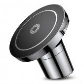 Baseus Big Ears İphone X 8 8 Plus Mıknatıslı Araç Tutucu + Kablosuz Şarj Cihazı Şarj Aleti Fcc Lisanslı