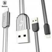 Baseus Travel Creative Apple İphone Kaliteli Şarj Kablosu Kablo 100cm Gri