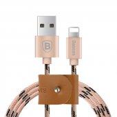 Baseus Rapid Power İphone Hızlı Şarj Kablosu Kablo 50cm Rose Gold