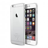 Baseus Gradient Şeffaf İphone 6 6s Plus Kılıf Arka Koruyucu Kapak