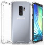 Samsung Galaxy S9 Plus Kılıf Nitro Köşekamera Korumalı Kapak Kablosuz Şarj Uyumlu