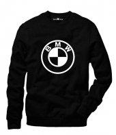 Tshirthane Bmw Bmw Logo Sweatshirt Uzunkollu