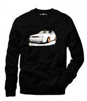 Tshirthane Vw Volkswagen Golf Mk2 Sweatshirt Uzunkollu
