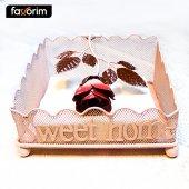 Favorim Sweet Home Gül Desenli Ağırlıklı Peçetelik