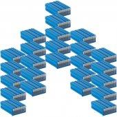 Sembol 102 Plastik Çekmeceli Kutu (25' Li Paket) 85x122x41 Mm