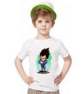 Tshirthane Dragon ball vegeta tişört Çocuk tshirt