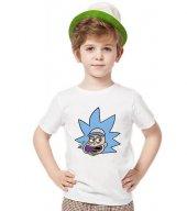 Tshirthane Rick And Morty Smile Tişört Çocuk...