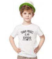 Tshirthane Shawn Mendes İs My Boyfriend Tişört...