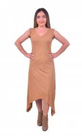 Perimir Özel Tasarım Süet Elbise