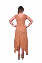 Perimir Özel Tasarım Süet Elbise-2