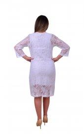 Perimir Özel Tasarım Dantel Elbise-2
