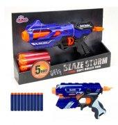 Blaze Storm Nerf Guns Yumuşak Mermili Tabanca 5 Pa...