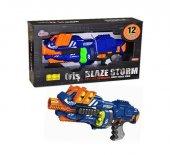 Blaze Storm Silah Pilli Top Mermi Atan Tüfek 12pcs Top Soft Mermi