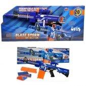 Blaze Storm 7054 Pilli Otomatik Sünger Atan Yumuşak Mermili Tüfek M4 20-2