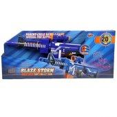 Blaze Storm 7054 Pilli Otomatik Sünger Atan Yumuşak Mermili Tüfek M4 20-3