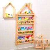 çocuk Odası Eğitici Montessori Kitaplık Mobilya...