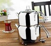 Evimsaray Ece S 1310 Orta Boy Çelik Çaydanlık