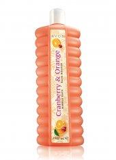Avon Duş Jeli 1000 Ml Cranberry Orange Banyo Köpüğü