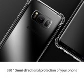 Samsung Galaxy S8 Kılıf Nitro Anti Shock Silikon Kapak Arka Koruma-5